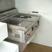 Mora campagne 5/5 Two high capacity deep friers form the centre of the cozy road side restaurant.